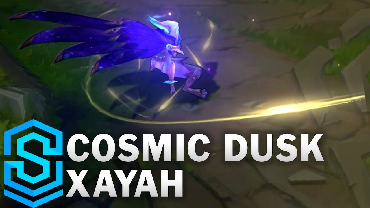 Cosmic Dusk Xayah Skin Spotlight - League of Legends