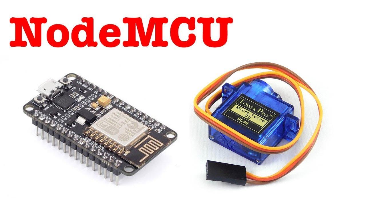 Nodemcu Esp8266 Control Servo Motor Basic Usage Youtube Tutorial Dc Basics Working Of
