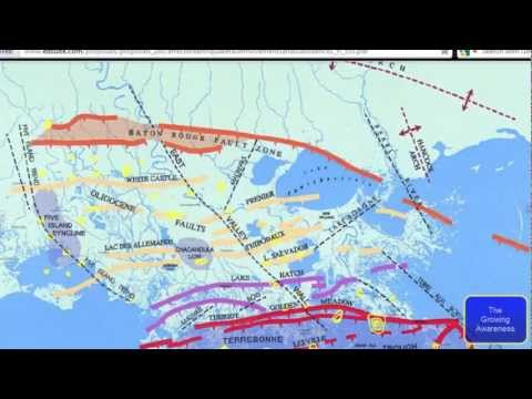 THE COAST IN LOUISIANA IS SINKING-11-10-2012-(READ THE DESCRIPTION BELOW THIS VIDEO)