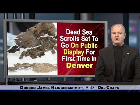 Dead Sea Scrolls On Public Display In Denver