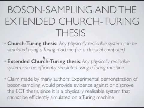 church-turing thesis quantum Cs 294-2 quantum computation and extended church-turing the-sis 2/5/07 spring 2007 lecture 6 01 extended church-turing thesis the extended church-turing thesis.