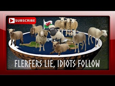 FLAT EARTH BELIEVERS: MINDLESS FOOLS FOLLOWING THE HERD. thumbnail