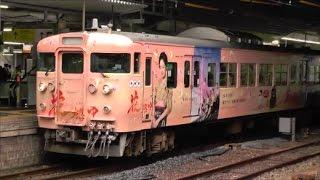 115系セキN-06編成(下関総合車両所所属)充当の、普通列車362Mです。 こ...