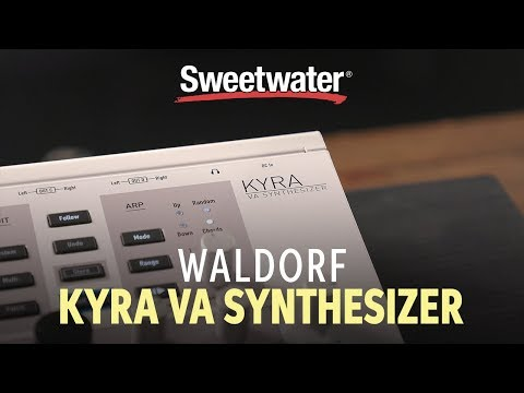 Waldorf KYRA Synthesizer Demo & Sounds With Daniel Fisher 🎹