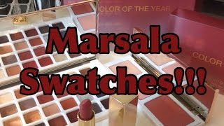 "MARSALA! Sephora and Pantone Universe ""Color of the Year"" 2015 Line Thumbnail"