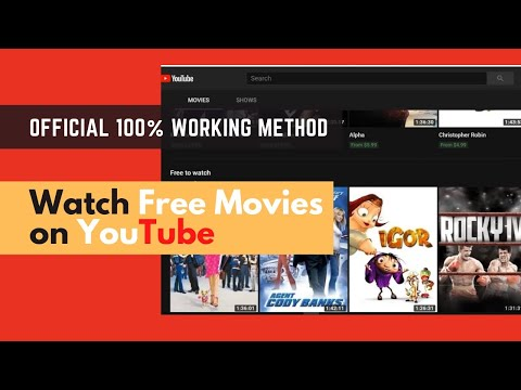 How To Watch Free Movies On YouTube, Legally 2020 [Free To Watch]