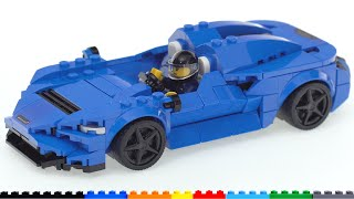 LEGO Speed Champions McLaren Elva 76902 review! They done did good
