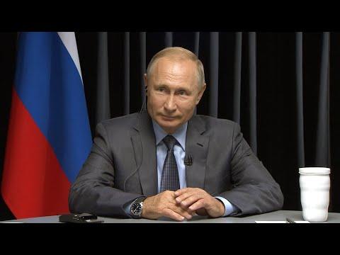 Владимир Путин — об отношениях России с США и арабским миром