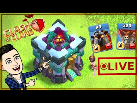Town Hall 13 Live Attack !! Clash Of Clans Live    COC Live