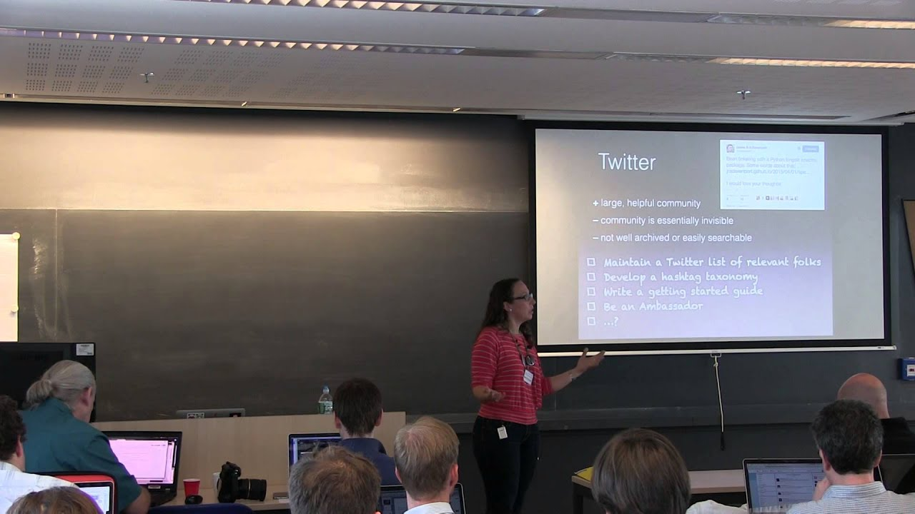 Image from Kelle Cruz - Building the community of Python users in Astronomy