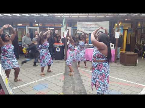 Banamba dans in Rotterdam  Nationale Vrouwendag!