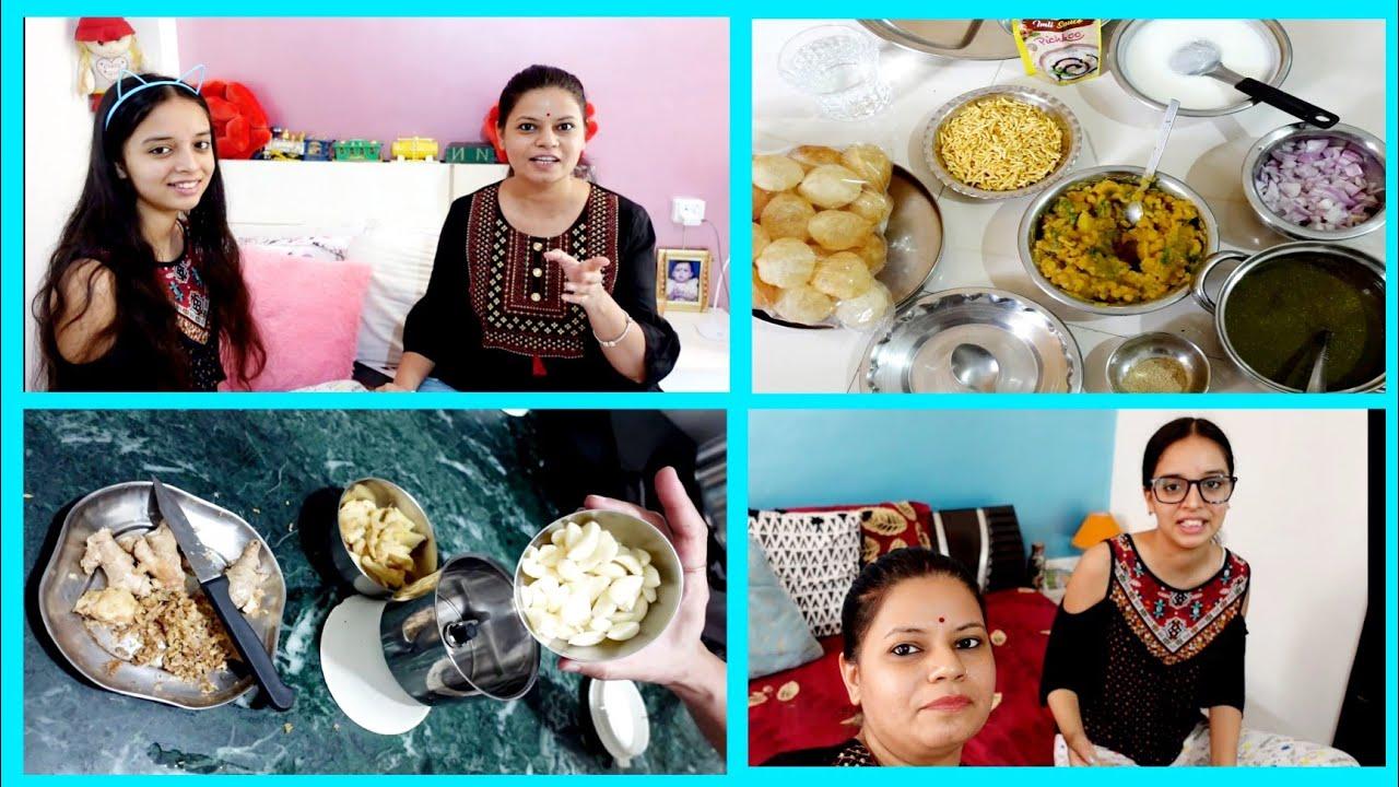 Baarish💦ke pehle ye sab zaruri hai || Shriya ne kya 💅Seekha..! Storing Ginger/garlic paste for 1year