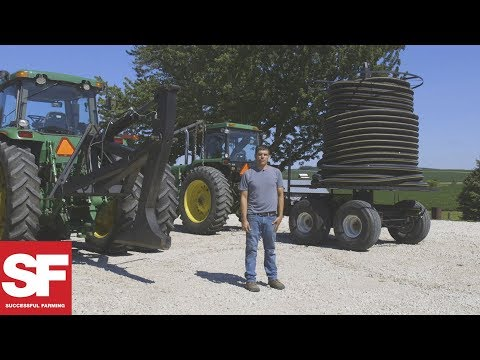 Farmer-Built Tiling Machine | All Around The Farm | Successful Farming