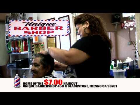 VIDEO: Unique Barbershop - 450 N Blackstone Ave Fresno, CA 93701