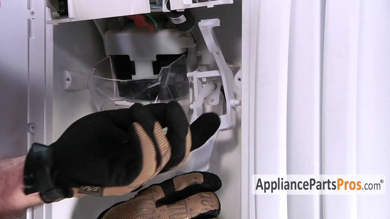 Connect and install the water line to your refrigerator