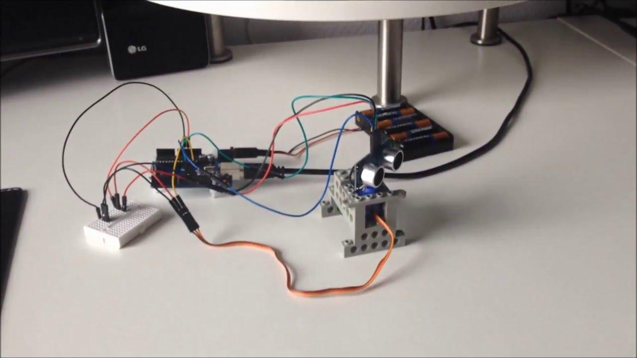 medium resolution of how to make a radar ultrasonic sonar system with arduino tutorial incl sketch code youtube