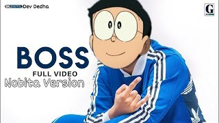 Boss Song (Jass Manak) IN Doraemon |Nobita Version|