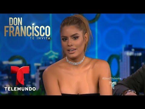 Don Francisco Te Invita | Ariadna Gutiérrez orgullo colombiano y de su familia | Entretenimiento