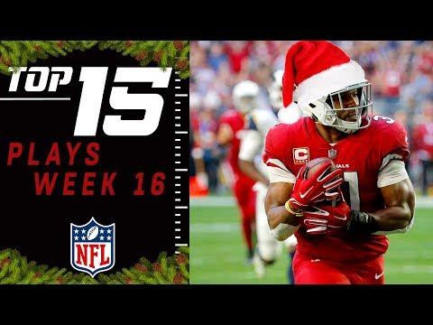 Top 15 Plays of Week 16 | NFL 2018 Highlights