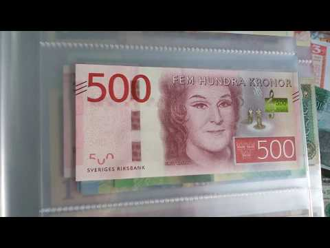 #Currency special part 46: Swedish Kronor / Complete NEW series!