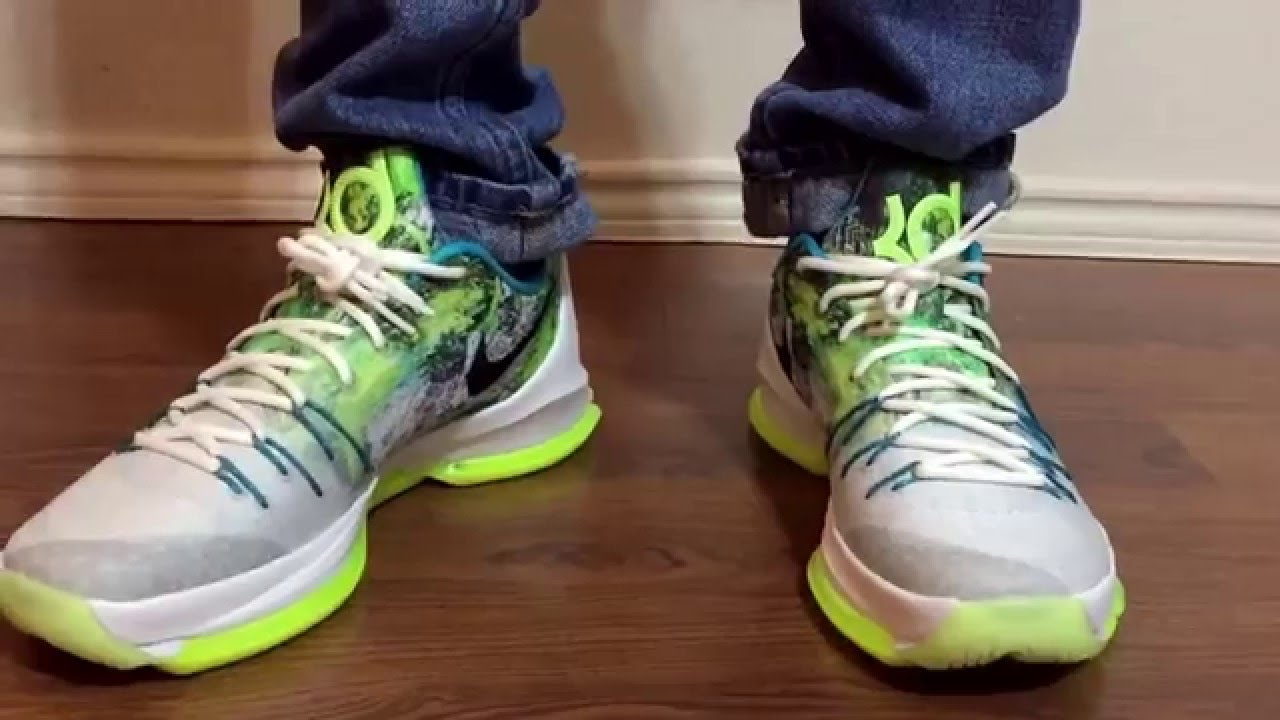 buy online c7fd0 d7718 My review of the Nike KD8 N7 unbox and on feet review