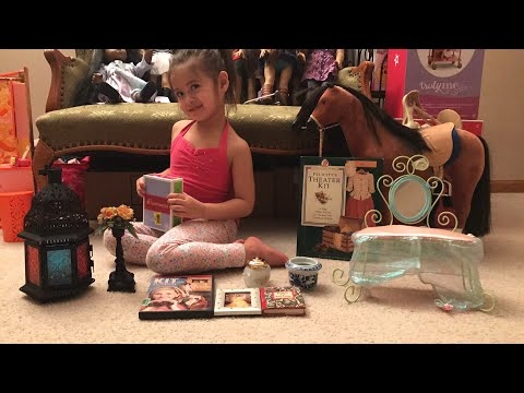 American Girl Items Thrift Store Finds And Furniture For American Girl Doll House