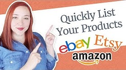 Quickly List Your Products on Amazon, Ebay & Etsy with Sellbery