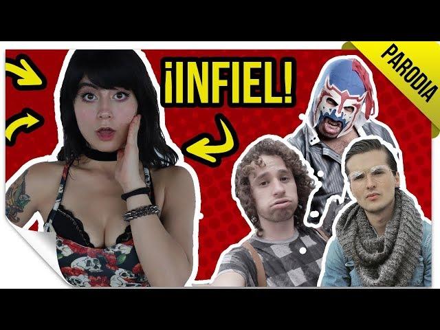 ¡Exponiendo Infieles! | PARODIA: YOUTUBERS | QueParió!