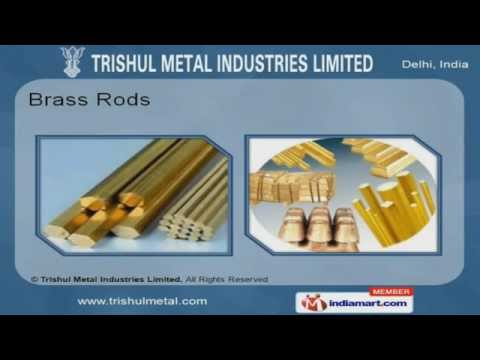 Copper Rods by Trishul Metal Industries Limited Delhi