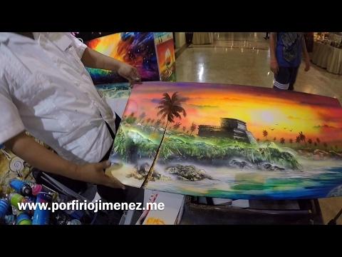 Spray paint  tulum Riviera maya