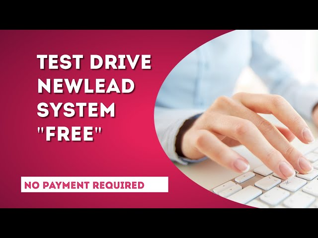 Test Drive This Lead Generation System for FREE no payment required.