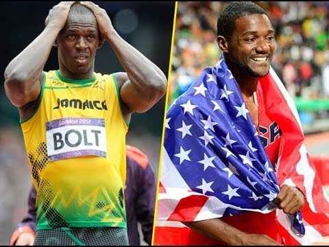 Image result for Usain Bolt Defeated At Diamond League by Justin Gatlin