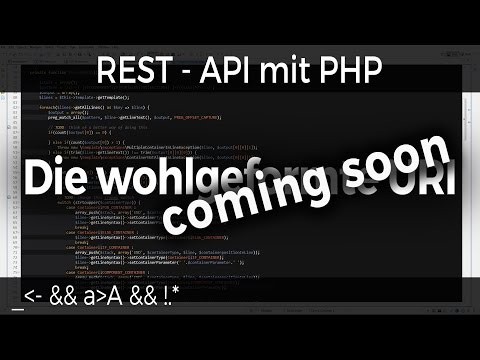 REST - API mit PHP #07 - URI - coming soon