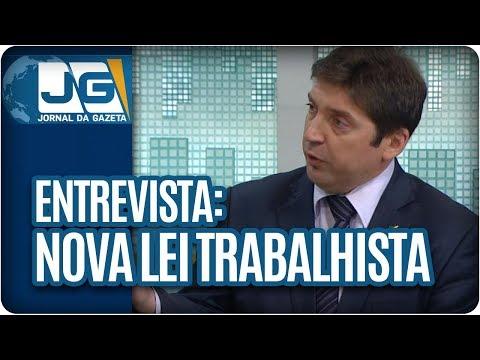 Maria Lydia entrevista Guilherme Feliciano, Pres. da Anamatra, sobre a nova lei trabalhista