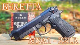 BERETTA 92FS M9A1 22LR REVIEW