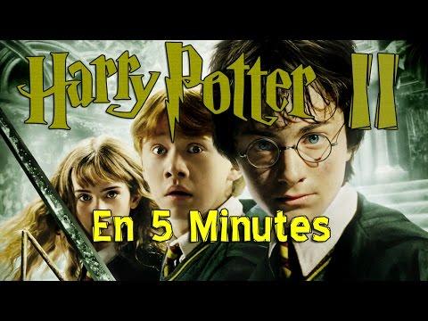 Harry Potter et la chambre des secrets en 5 min