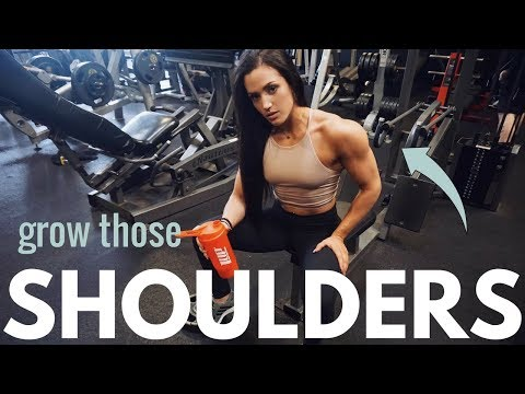 BUILD YOUR SHOULDERS – FULL WORKOUT AT GOLD'S GYM VENICE BEACH – THE MECCA