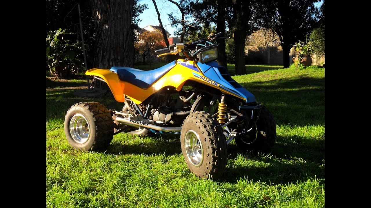 suzuki lt250r gopro wheelie stunt quadracer ltr 450 argentina