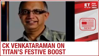 Jewellery demand recovery; What are Titan's festive boost expectations? | CK Venkataraman to ET Now