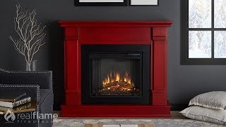 Real Flame - Silverton Electric Fireplace Mantel