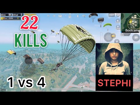 [ PUBG MOBILE ] 22 KILLS | BEST SANHOK GAMEPLAY | ONE VS SQUAD