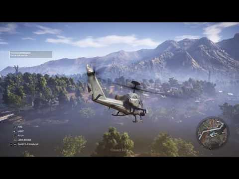 wildlands how to fly the helicopter