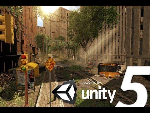 Speed Level Design : Apocalyptic City - Unity 5
