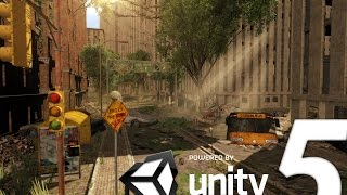 Speed Level Design : Apocalyptic City - Unity 5