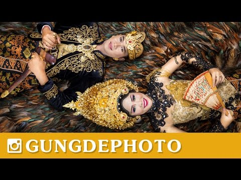 Video Behind The Scene (BTS) Prewedding Art Center Bali