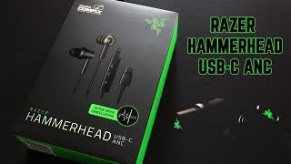 UNBOXING - RAZER HAMMERHEAD USB-C ANC