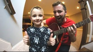 SKATING & GUITAR TIME WITH MY SON!