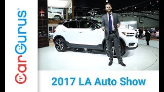 2019 Volvo XC40 | 2017 LA Auto Show