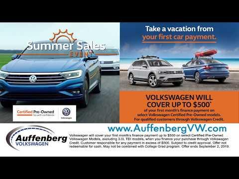 Summer Sales Event | Auffenberg Auto Group