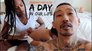 QUARANTINE VLOG : DAY IN OUR LIFE / TOKYO MEETS BROOKLYN (日本語字幕)